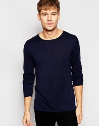 Selected Homme Lightweight Knitted Jumper Blue