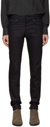 Naked And Famous Black Superskinny Guy Jeans