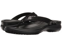 Crocs Capri V Sequin Black Women's Sandals
