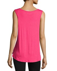 Beyond Yoga One Hand In My Pocket Tank Top Pink