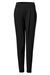 Donna Karan Pleat Front Pants In Black