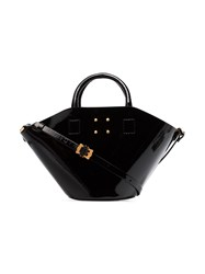 Trademark Trmk Small Basket Lthr Bkt Bg Black