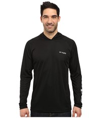 Columbia Terminal Tackle Hoodie Black Cool Grey Men's Sweatshirt