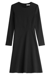 Jil Sander Wool Dress Black