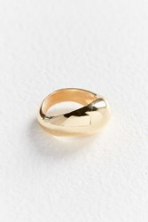 Urban Outfitters Zari Modern Metal Ring Gold
