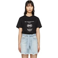 Givenchy Black Spirit T Shirt