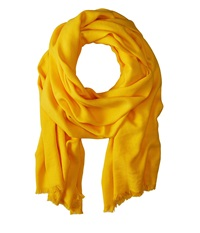 Love Quotes Rayon Eyelash Scarf Goldenrod Scarves Orange