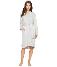 Ugg Karoline Shawl Robe Seal Heather Women's Robe White