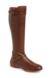 Max Studio Women's Maxstudio 'Depart' Tall Boot Mid Brown