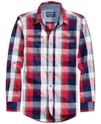 American Rag Blocks Plaid Shirt