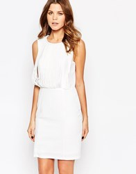 Y.A.S Fringe Dress White