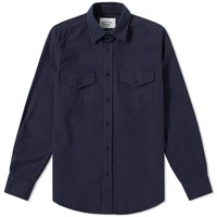 Portuguese Flannel Campo Overshirt Blue