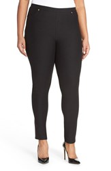Plus Size Women's Michael Michael Kors Stretch Twill Leggings
