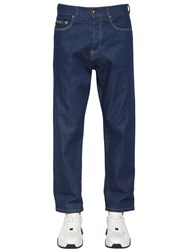 Versace Chino Fit Denim Jeans Blue