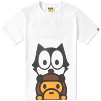 A Bathing Ape X Felix The Cat 2 Tee White