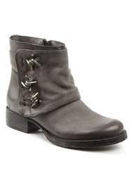 Daniel Magsy Barbed Chunky Ankle Boots Grey