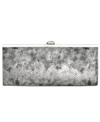 Inc International Concepts Carolyn Clutch Only At Macy's Pewter