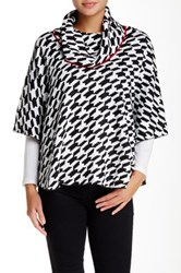 Fever Printed Poncho Multi