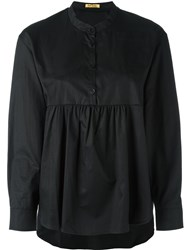 Peter Jensen Pleated Blouse Black