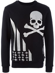 Philipp Plein 'Daytona Beach' Sweatshirt Black