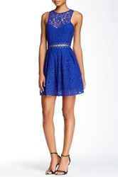 Style Stalker Bloc Party Dress Blue