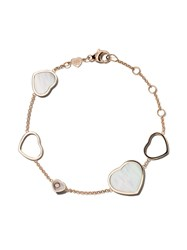 Chopard 18Kt Rose Gold Happy Hearts Mother Of Pearl And Diamond Unavailable