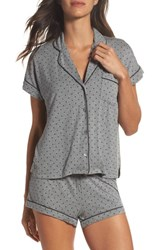 Uggr Women's Ugg Amelia Short Pajamas Grey Heather Dot