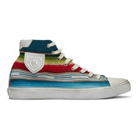 Saint Laurent Multicolor Mexican Jacquard Bedford Sneakers