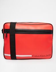 Calvin Klein Messenger Bag Red
