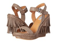 Not Rated Roaring Ruby Taupe Women's Wedge Shoes