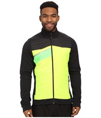 Pearl Izumi Flash Insulator Run Jacket Screaming Yellow Black Men's Workout