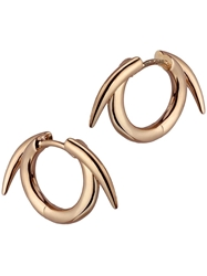 Shaun Leane Thorned Hoop Earrings Pink And Purple