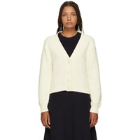 See By Chloe White Cotton Cardigan