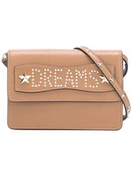 Red Valentino 'Dreams' Studded Crossbody Bag Nude Neutrals