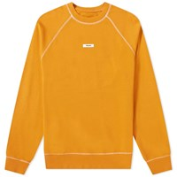 Tres Bien Escape Label Crew Sweat Orange