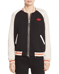 Scotch And Soda Color Block Bomber Jacket Combo A