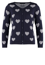 Dorothy Perkins Cardigan Navy Dark Blue