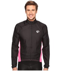 Pearl Izumi Elite Barrier Cycling Jacket Black Screaming Pink Coat