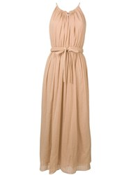 Vanessa Bruno Sleeveless Maxi Dress Neutrals