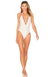 Lovers Friends Adrift Swimsuit Cream