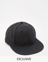 Reclaimed Vintage Cap Charcoal