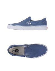 Vans Footwear Low Tops And Trainers Men Pastel Blue