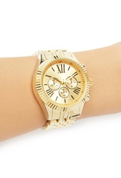 Forever 21 Classic Chronograph Watch Gold Gold
