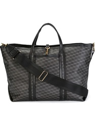 Pierre Hardy Cube Print Tote Brown