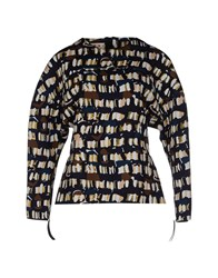 Marni Topwear Sweatshirts Women Dark Blue