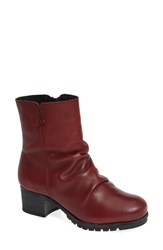 Bos. And Co. Madrid Waterproof Insulated Bootie Rubino Melbourne Leather
