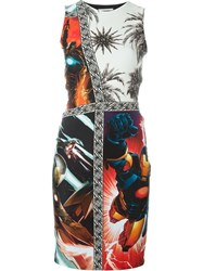 Fausto Puglisi Multi Print Dress Multicolour