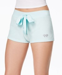 Betsey Johnson Bridal Terry Shorts Betty Blue