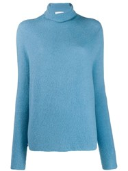 Christian Wijnants Turtle Neck Jumper Blue
