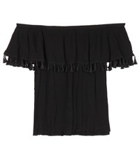 Velvet Dominga Off The Shoulder Blouse Black